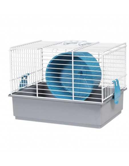 Jaula hamster 910 blanca (27x19,5x20 cm)