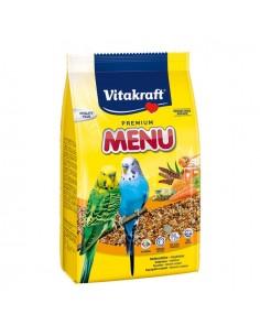 Vitakraft menu periquitos 500 grs.