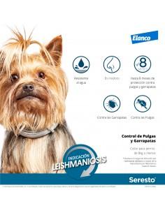 Collar antiparasitario seresto perro