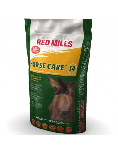 Horse care 10% cubes red mills 25 kg