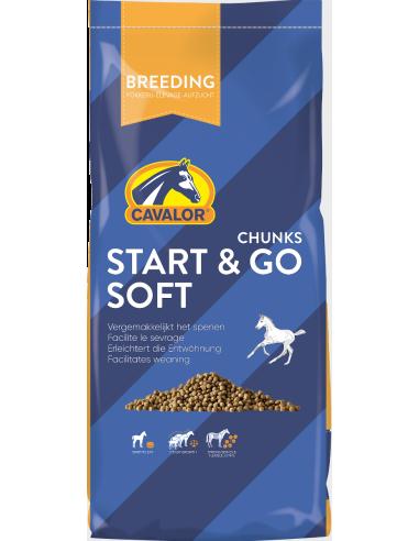 Start & go soft chunks cavalor 15 kg