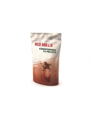 Conditioning 14% pellets red mills 25 kg