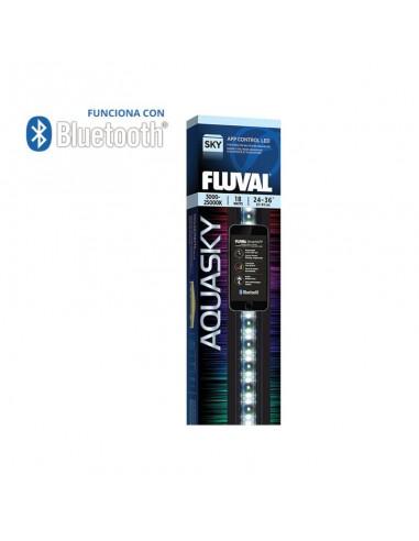 PANTALLA ILUMINACION BLUETOOTH FLUVAL AQUASKY LED 12W 38-61CM