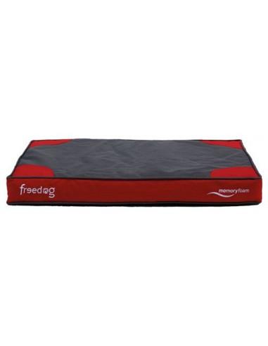 Cama Memory Foam Flat Rojo 51x76x10cm