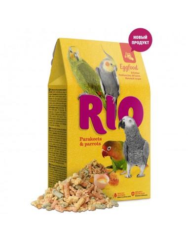 Alimento de Huevo Pequeñas Cotorras y Loros 250gr Rio
