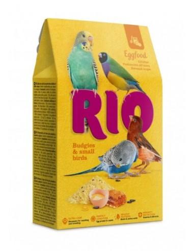 Alimento de Huevo Periquitos y Pequeñas Aves 250gr Rio
