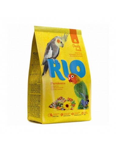 Alimento Diario Agapornis/Pequeñas Cotorras 1kg Rio